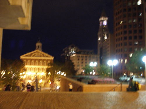 Faneuil Hall at Night