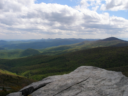 View from Rough Ridge
