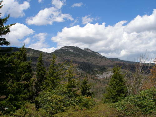 Grandfather Mountain from the west